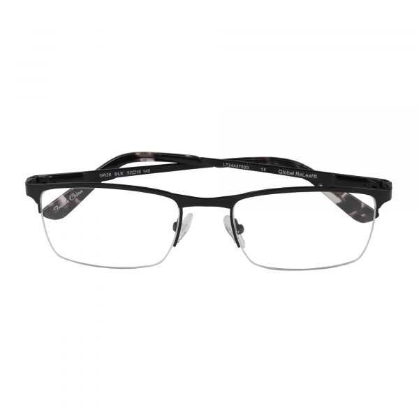 Global Releaf Black GR26 - Eyeglasses - Folded