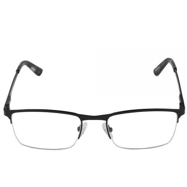 Global Releaf Black GR26 - Eyeglasses - Front