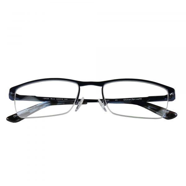 Global Releaf Blue GR26 - Eyeglasses - Folded