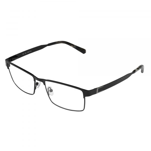 Van Heusen Black H161 - Eyeglasses - Left