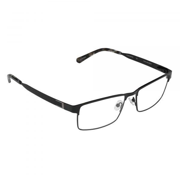 Van Heusen Black H161 - Eyeglasses - Right