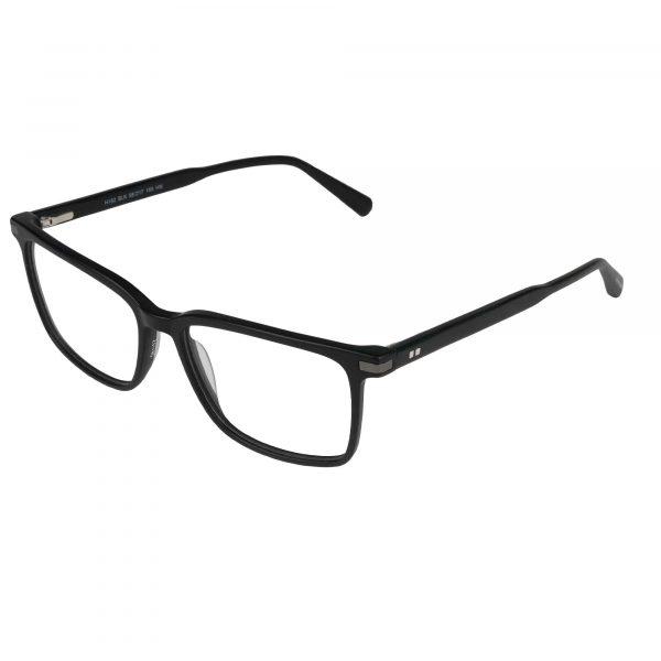 Van Heusen Black H182 - Eyeglasses - Left