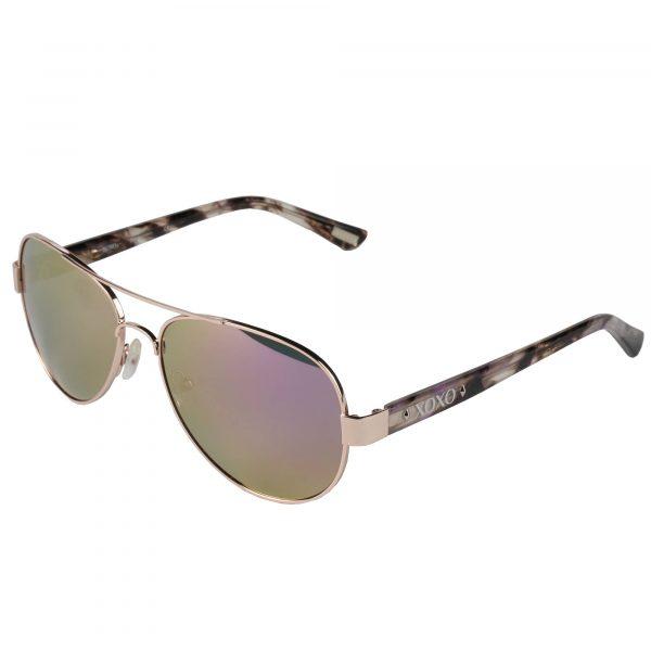 XOXO Rose Gold Delray - Sunglasses - Left