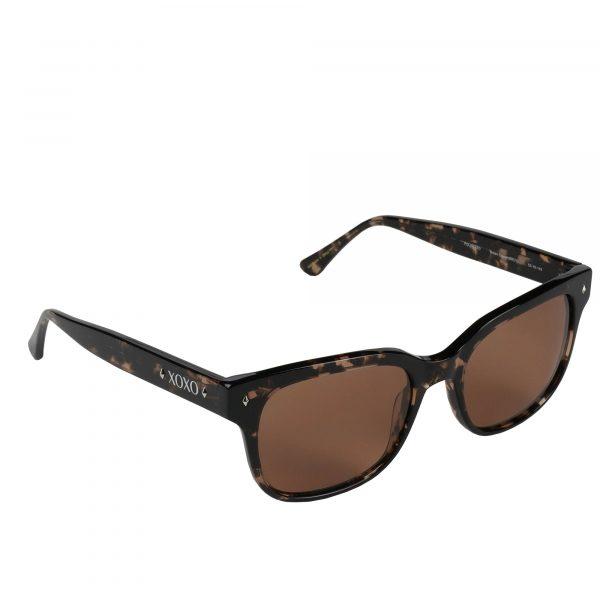 XOXO Brown Crystal Destin - Sunglasses - Right