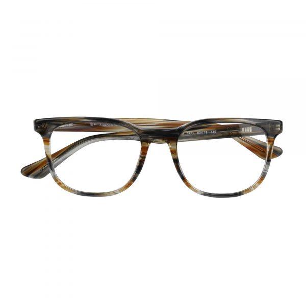 Ray-Ban Brown/Grey 5369 - Eyeglasses - Folded
