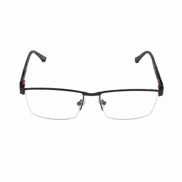 Lascala Black L864 - Eyeglasses - Front