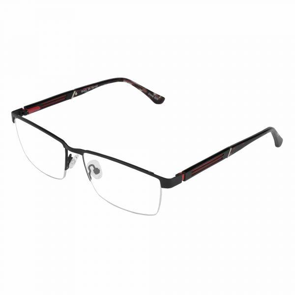 Lascala Black L864 - Eyeglasses - Left