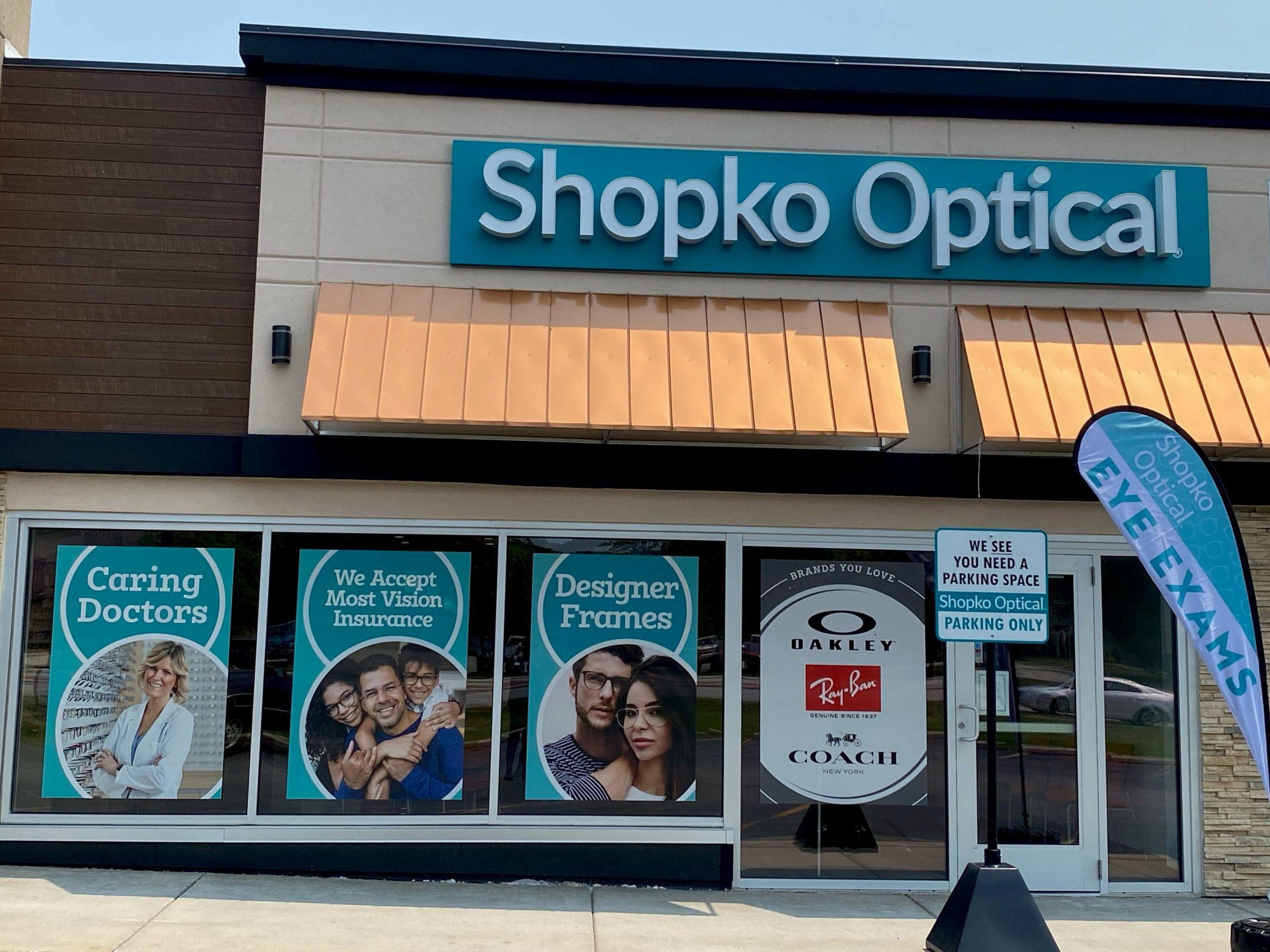 storefront 244 - Hales Corners Shopko Optical