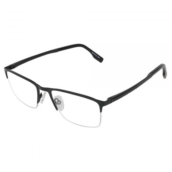 Precision Black 158 - Eyeglasses - Left
