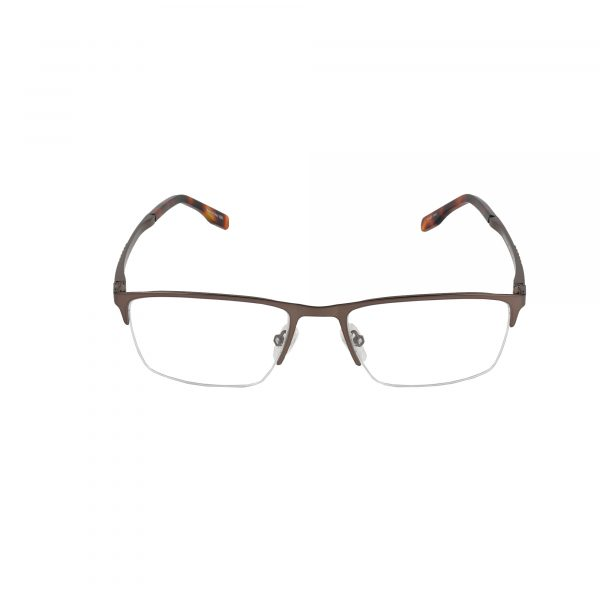 Precision Brown 158 - Eyeglasses - Front