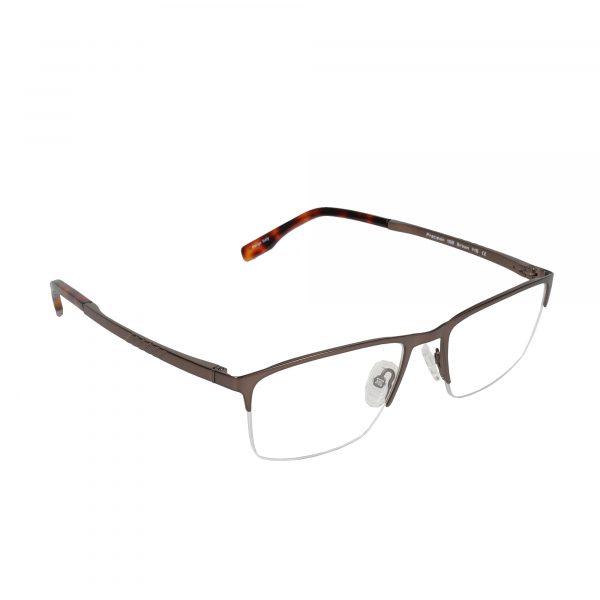 Precision Brown 158 - Eyeglasses - Right
