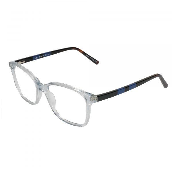 Fregossi Blue 1001 - Eyeglasses - Left