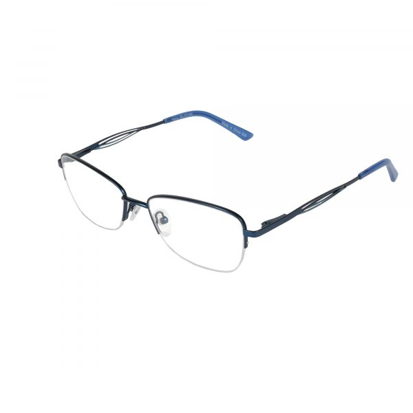 Fregossi Blue 678 - Eyeglasses - Left