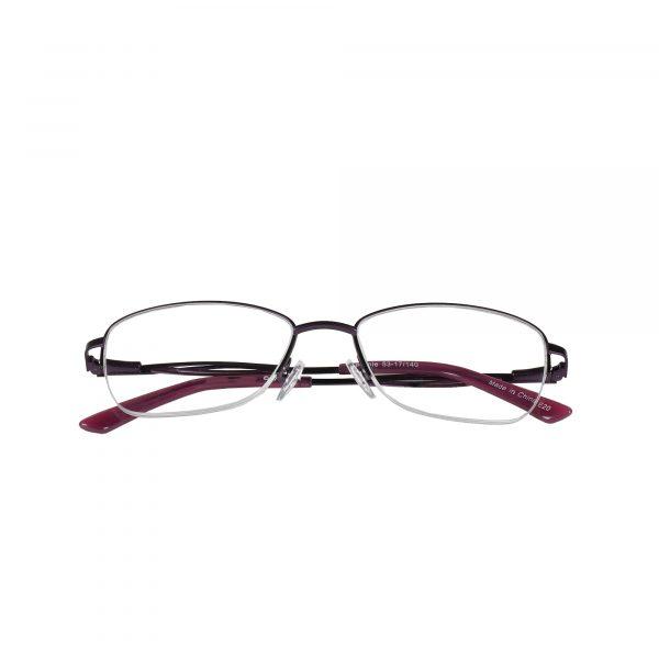 Fregossi Purple 678 - Eyeglasses - Folded