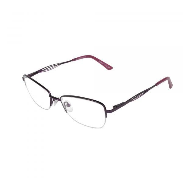 Fregossi Purple 678 - Eyeglasses - Left