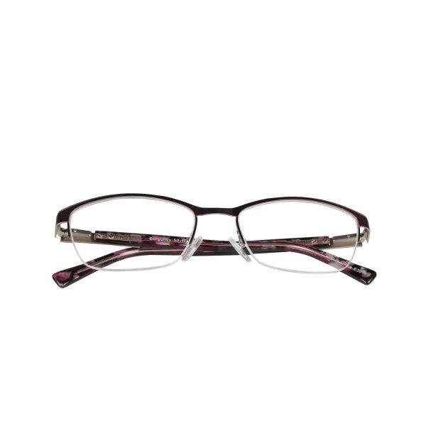Lascala Red 859 - Eyeglasses - Folded