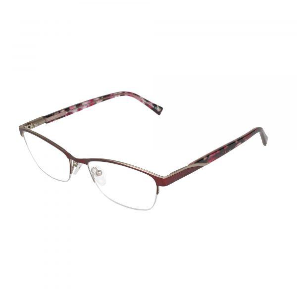 Lascala Red 859 - Eyeglasses - Left