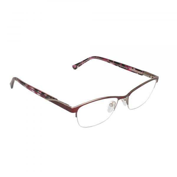 Lascala Red 859 - Eyeglasses - Right