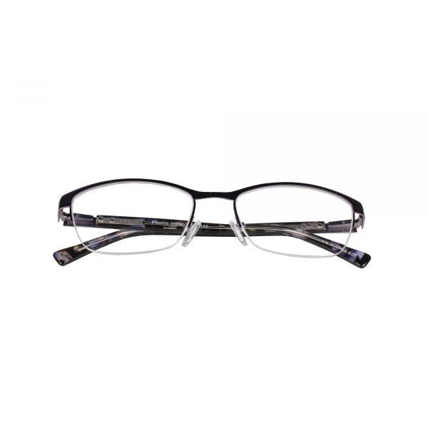 Lascala Purple 859 - Eyeglasses - Folded
