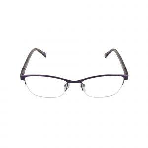 Lascala Purple 859 - Eyeglasses - Front