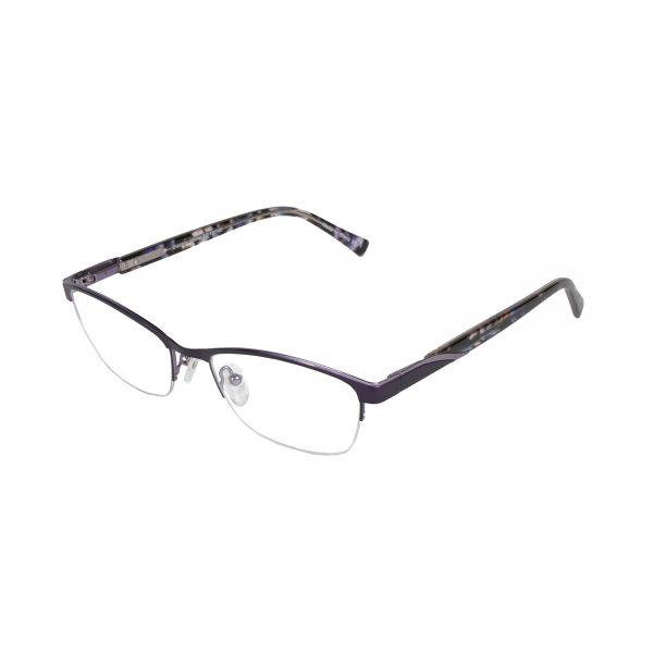 Lascala Purple 859 - Eyeglasses - Left