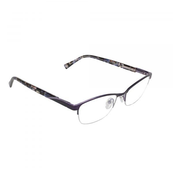 Lascala Purple 859 - Eyeglasses - Right