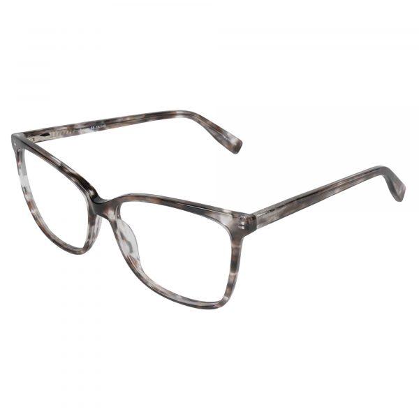 Fregossi Brown 1003 - Eyeglasses - Left