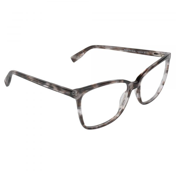 Fregossi Brown 1003 - Eyeglasses - Right