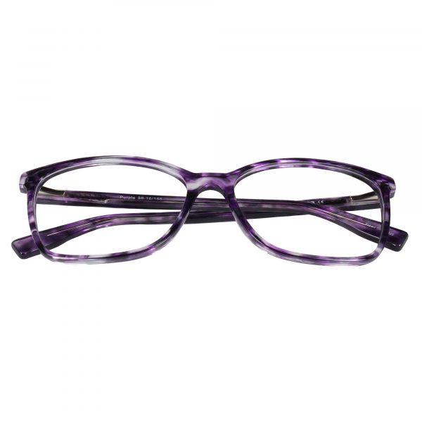 Fregossi Purple 1003 - Eyeglasses - Folded