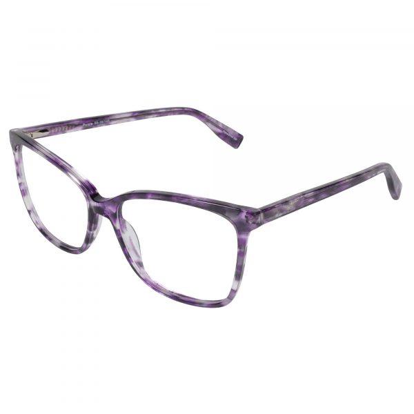 Fregossi Purple 1003 - Eyeglasses - Left