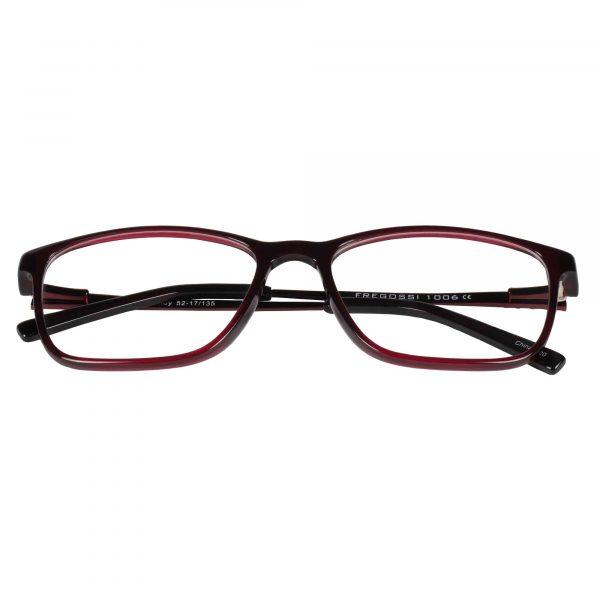 Fregossi Red 1006 - Eyeglasses - Folded