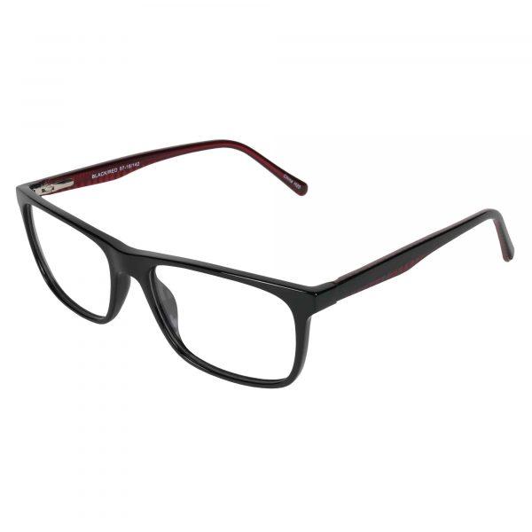 Fregossi Black 1011 - Eyeglasses - Left