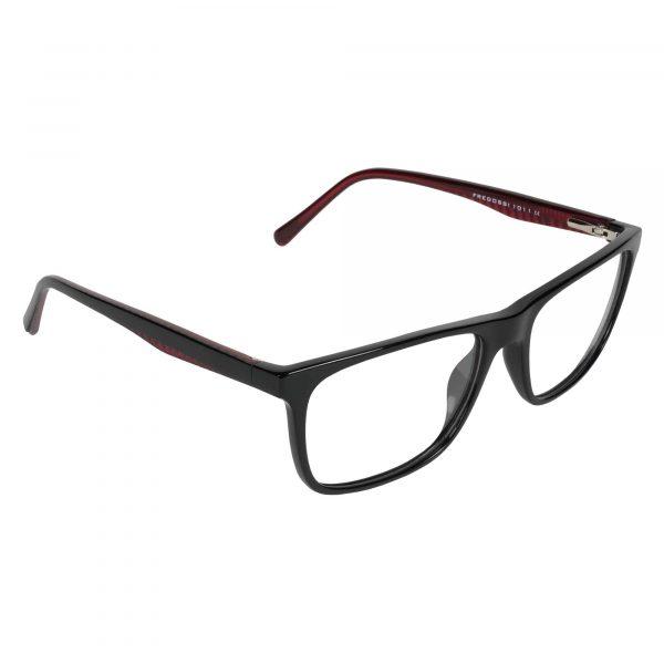 Fregossi Black 1011 - Eyeglasses - Right