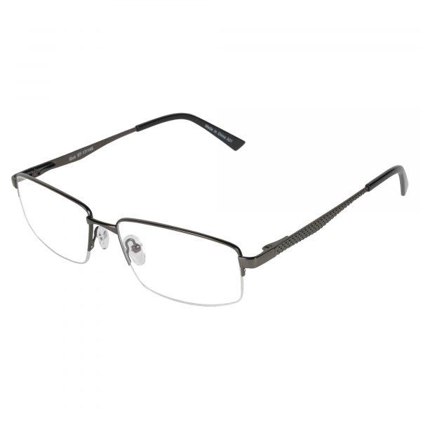 Fregossi Gunmetal 688 - Eyeglasses - Left