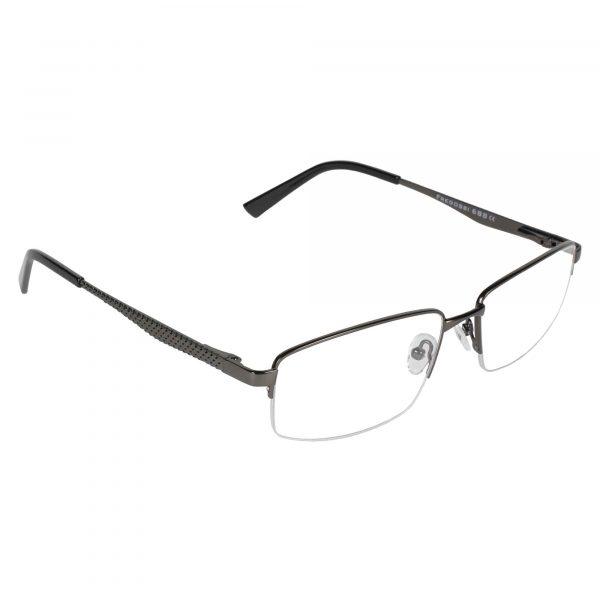 Fregossi Gunmetal 688 - Eyeglasses - Right