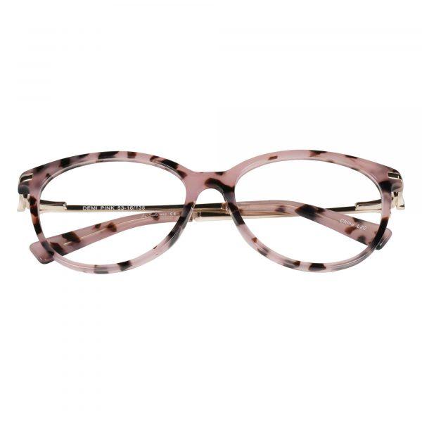 Lascala Pink 483 - Eyeglasses - Folded