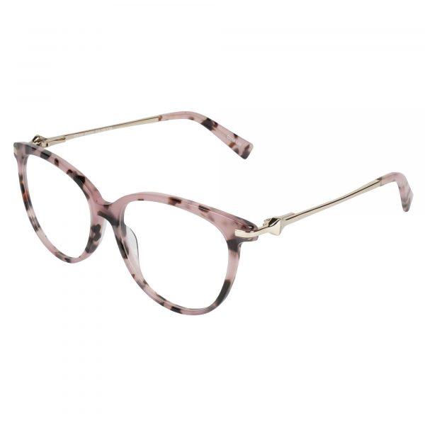 Lascala Pink 483 - Eyeglasses - Left
