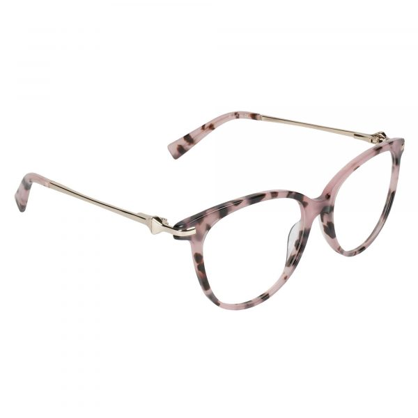 Lascala Pink 483 - Eyeglasses - Right