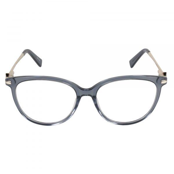 Lascala Gunmetal 483 - Eyeglasses - Front