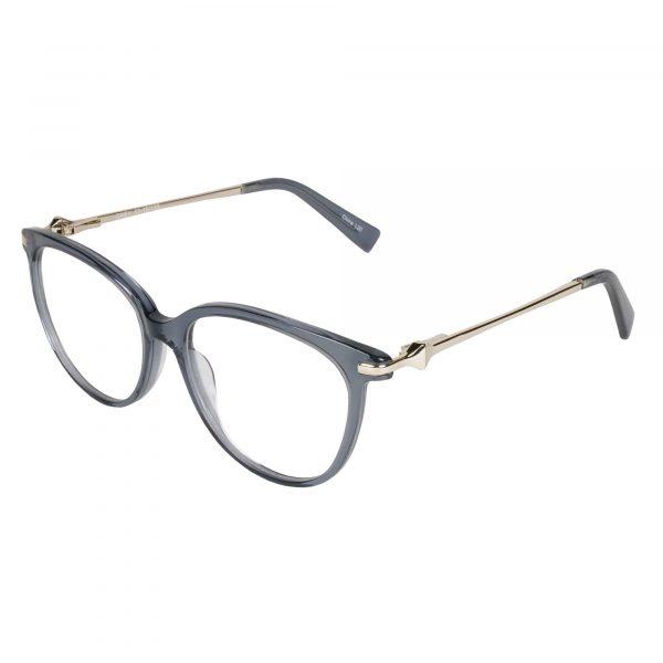 Lascala Gunmetal 483 - Eyeglasses - Left