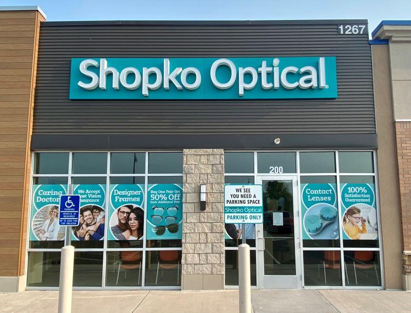 storefront 251 - Forest Lake Shopko Optical