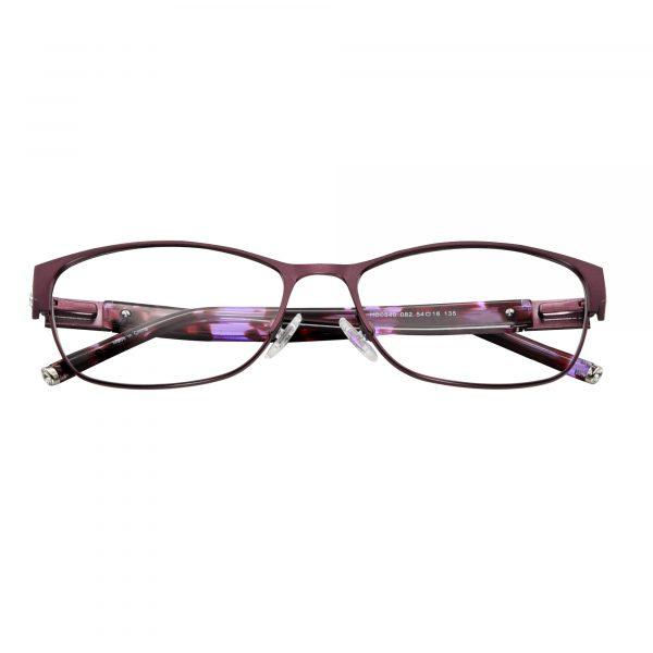 Harley Davidson Purple 540 - Eyeglasses - Folded