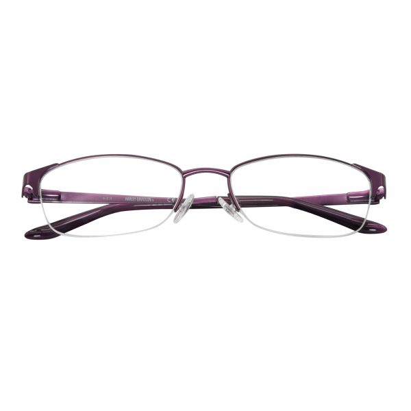 Harley Davidson Purple 541 - Eyeglasses - Folded