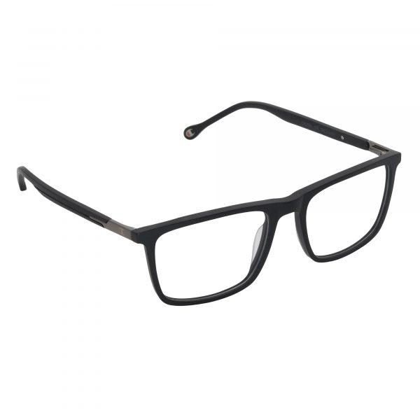 Champion Black Crosby - Eyeglasses - Right