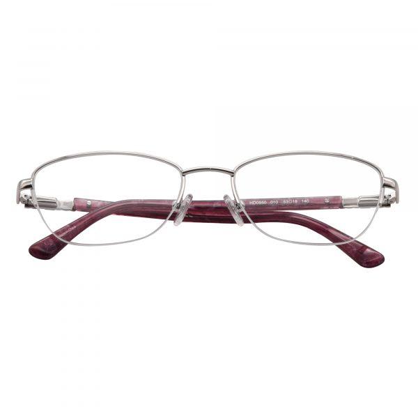 Harley Davidson Silver 550 - Eyeglasses - Folded