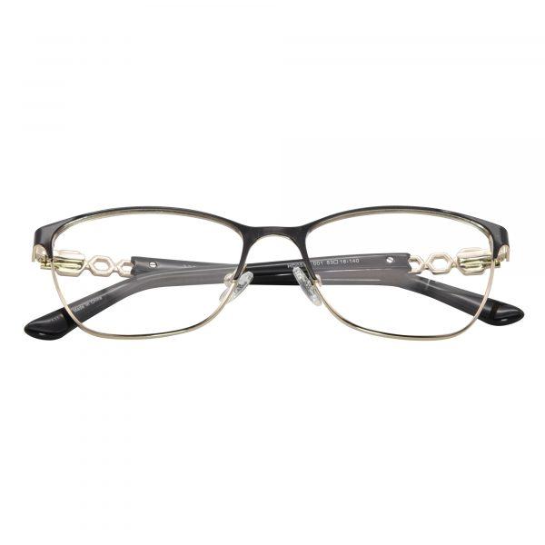 Harley Davidson Black 553 - Eyeglasses - Folded