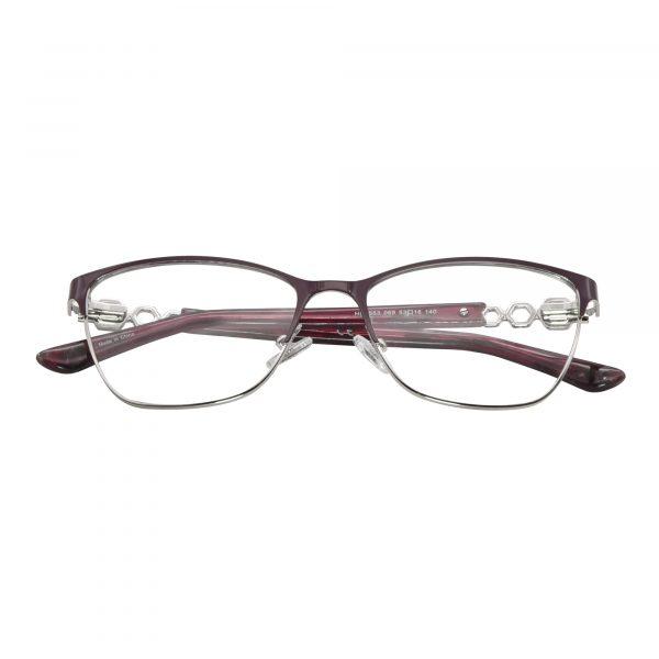 Harley Davidson Red 553 - Eyeglasses - Folded