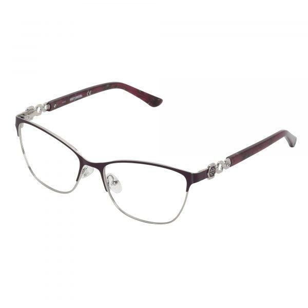 Harley Davidson Red 553 - Eyeglasses - Left