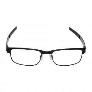 Oakley Black Metal Plate - Eyeglasses - Front