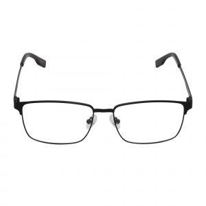 Invisaflex Black INV 108 - Eyeglasses - Front
